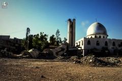 mosque in Hosh Al-Fara Town 25-6-2015