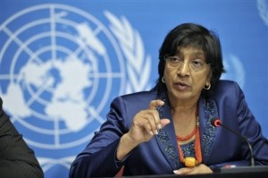Navi Pillay, the UN High Commissioner for Human Rights, has said that torture is being practised routinely across detention centres in Syria.