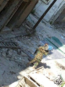 The Syrian regime is using the practice of stealing individual possessions as a punishment for those who oppose the regime.