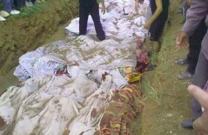 The Massacre of Artouz al-Fadl is one of the worst massacres committed in Syria during the last three years.
