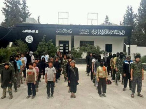 According to SHRC calculations, more than 800 children have been recruited into ISIS militias in Syria