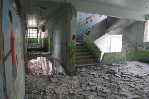Over 3000 schools have been subjected to complete or partial destruction due to arbitrary bombing