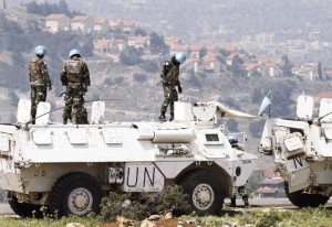 peace keeping forces Golan heights