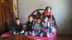 The victims are children from one family