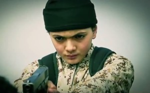 A child wearing military clothes killed Musallam