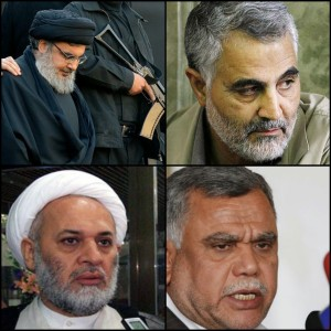 Most figures behind the militias are well known Iranian, Iraqi and Lebanese personalities which can be held to account for the crimes their militias have committed