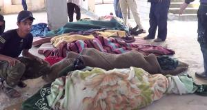 Victims of the massacre