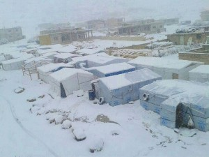 Weather conditions over the past few years have led to the death of many refugees, especially children.