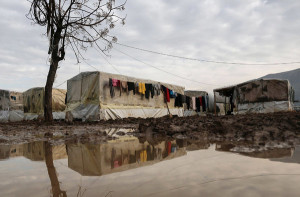 Refugees in Lebanon suffer from some of the worst conditions due to Lebanon's refusal to set up a camp
