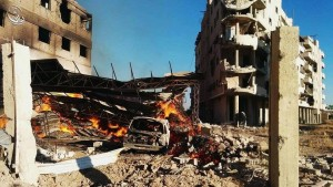 daraya napalm bombing 3