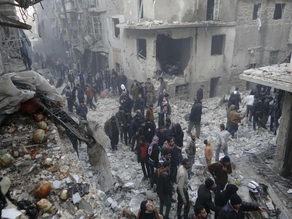 To this day, the international community has failed in condemning the Syrian regime for its use of barrel bombs