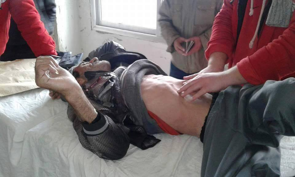 Pictures revealed that residents in Madaya were starving, whilst no pictures were provided for Kafraya and al-Fou'a