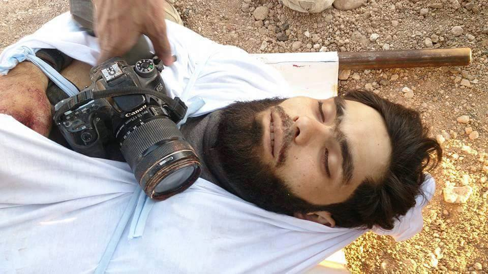 Majd Abu Shafeeq was directly targeted by a tank shell