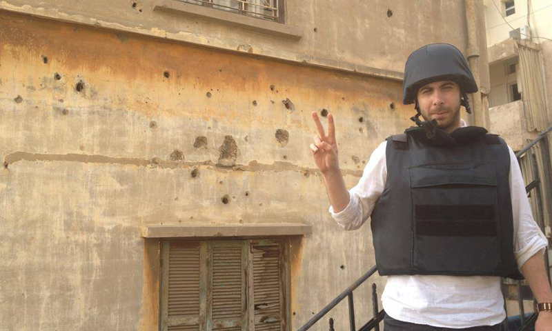 Rami Jarrah works as a journalist in north Syria