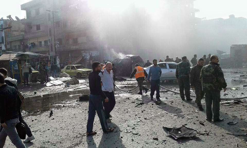 al-Zahra car explosion 3