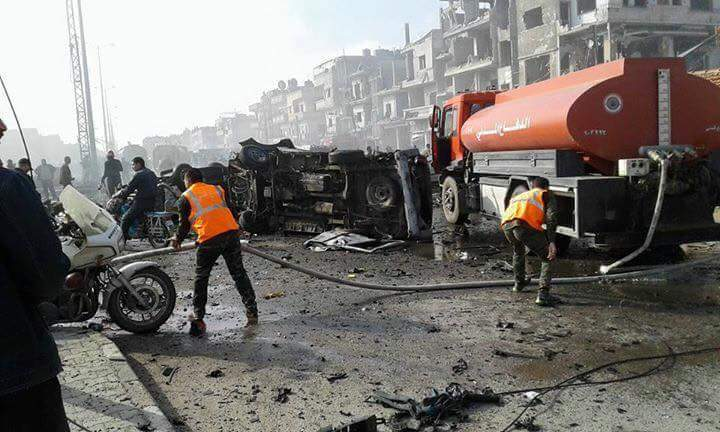 al-Zahra car explosion