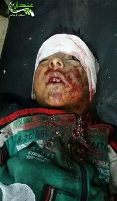 One of the children killed in the bombing