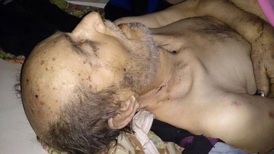 Majid Rajab of Daraya died due to the lack of medicine in his city