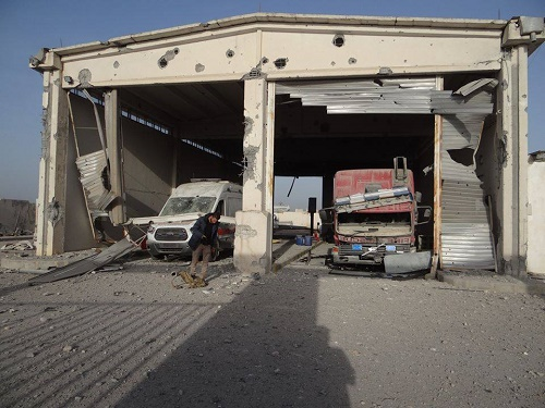 The attack is one of the worst on the civil defence since the beginning of the Syrian conflict