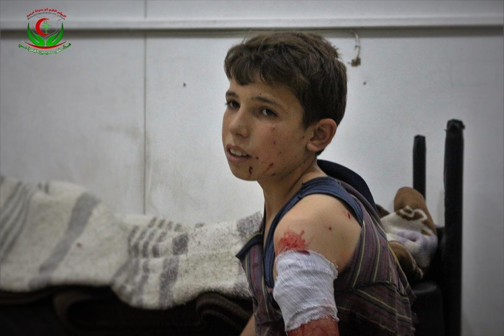 arbeen child injured