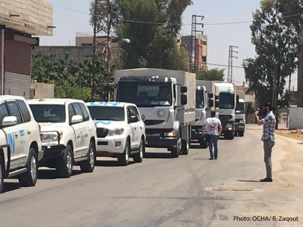 daraya convoy