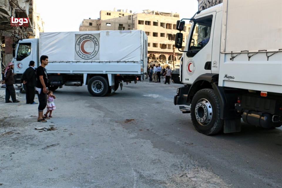 douma convoy