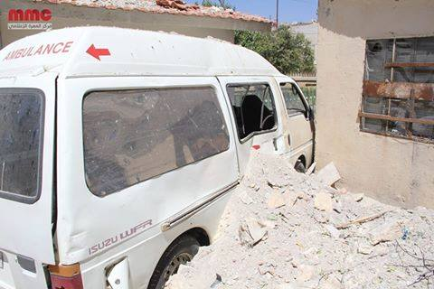 Damage caused to the Free Health Directorate in Idlib