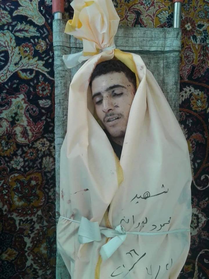 The victim Mahmoud Badran