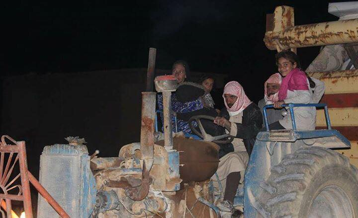 Residents of the village have began to leave following the massacre