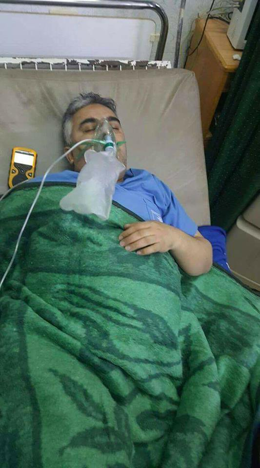 The bombing killed Dr Ali al-Darwish