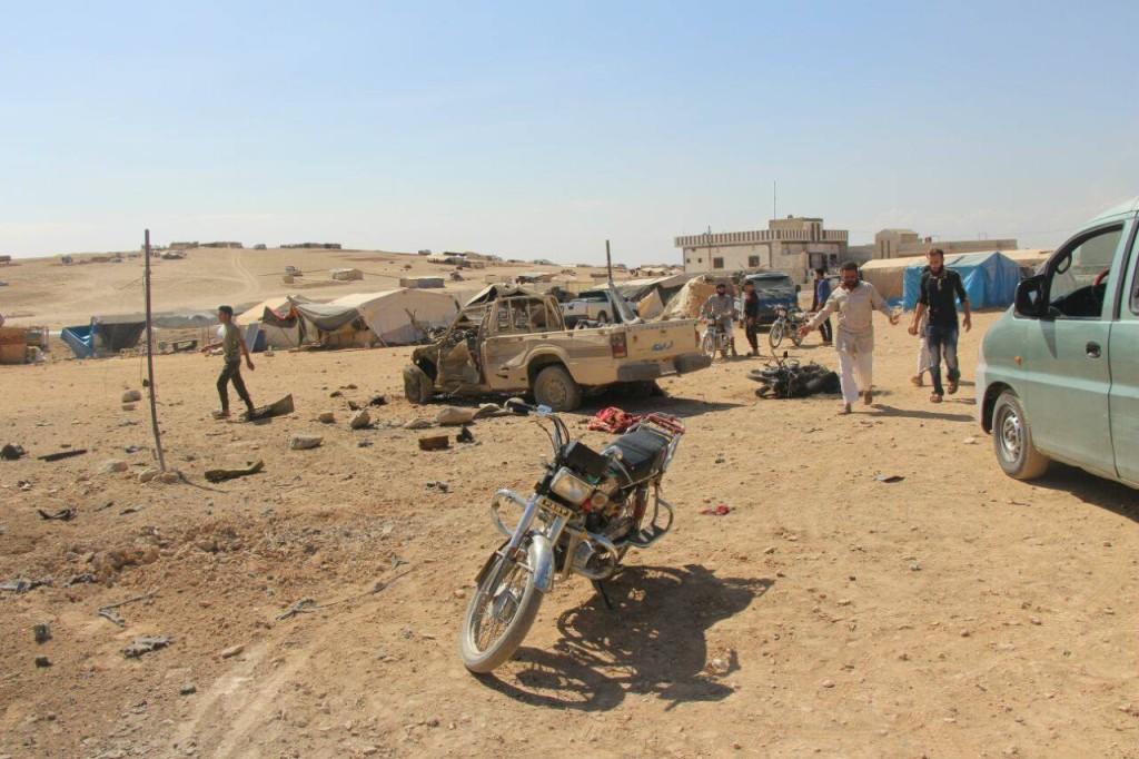 displaced camp