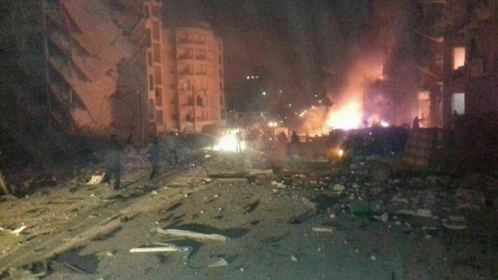 انفجار-سيارة-في-ادلب