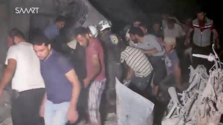 ضحايا-في-ادلب