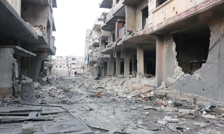 Ghouta destruction