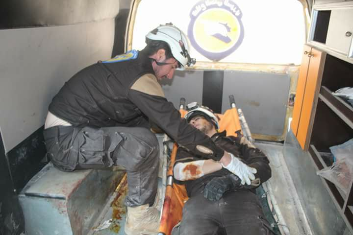 civil defence khan sheikhoun