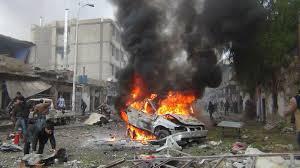 انفجار سيارة على طريق عرب سعيد
