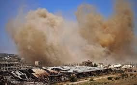 bombing Daraa province