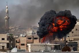 bombing Daraa