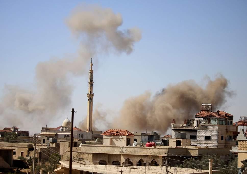 bombing Tseel