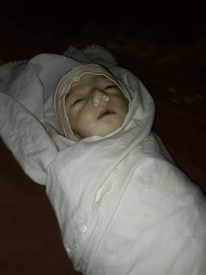 infant died Rukban