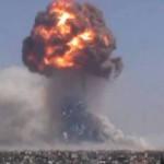 حول انفجار مستودع الأسلحة في حي موالي للنظام في حمص