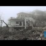 قصف المدنيين من قبل القوات الجوية السورية