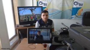 مؤيد سلوم، مراسل قناة أورينت، والذي تم اختطافه من قبل تنظيم داعش