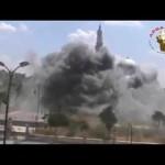حمص : قصف مسجد خالد بن الوليد