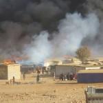 وفاة طفل وحالات اختناق في اقتحام للجيش اللبناني لمخيمات السوريين في عرسال