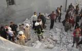 يوم دام في حلب واستهداف لنازحين في صالة أفراح