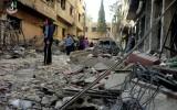مجزرة في دوما بقصف للطيران الحربي