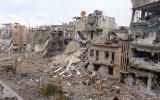 شهدت سورية جرائم حرب وجرائم ضد الإنسانية بصورة غير مسبوقة في العصر الحديث من حيث حجم التوثيق بالتوازي مع حجم الجريمة-الصورة من حمص 2013