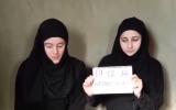 ظهرت الرهينتان محجبتان في فيديو تم بثه قبل أسبوعين
