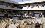 تستخدم الكثير من المدارس في سورية كمراكز لإيواء النازحين
